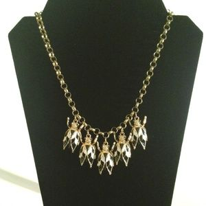 Necklace Vintage Look Gold Tone The Bee's Knees